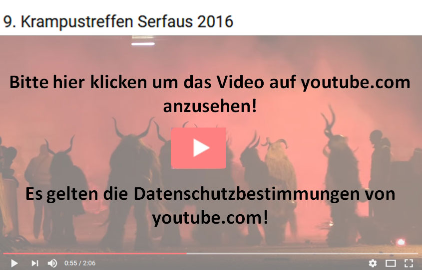 krampustreffen 2016 video youtube